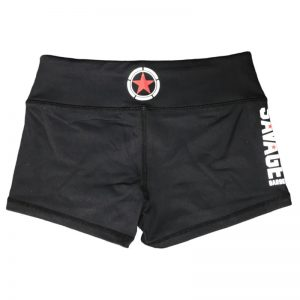 Booty Shorts Savage Barbell - Black