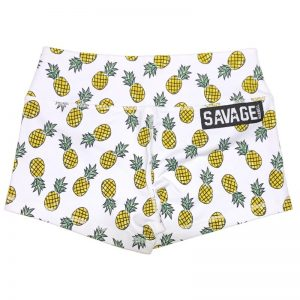 Booty Shorts Savage Barbell Pineapple Express
