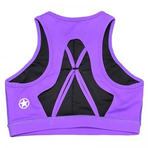 Soutien Desportivo Savage Barbell High Neck Purple