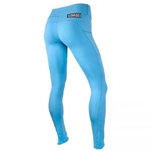 Leggings Savage Barbell Tidal Blue