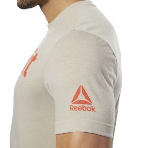 T-Shirt Reebok CrossFit Speedwick Beige