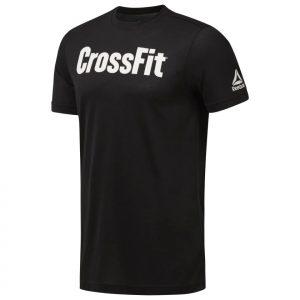 T-Shirt Reebok CrossFit Speedwick Black