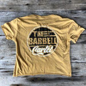 Long Beach Crop - Gold - The Barbell Cartel