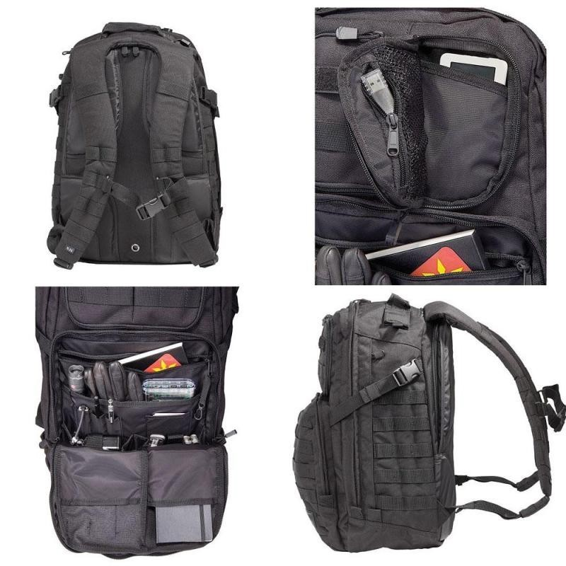 Mochila RUSH24 Black 37l - 5.11 Tactical