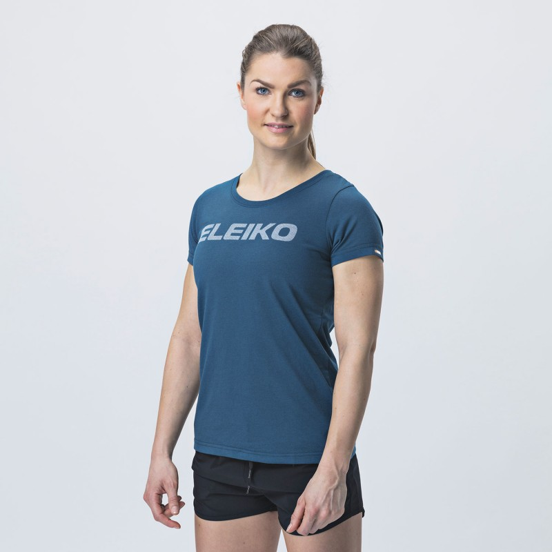Energy T-shirt Blue Women - Eleiko