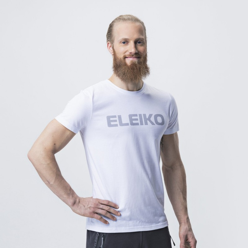 Energy T-shirt White Men's - Eleiko