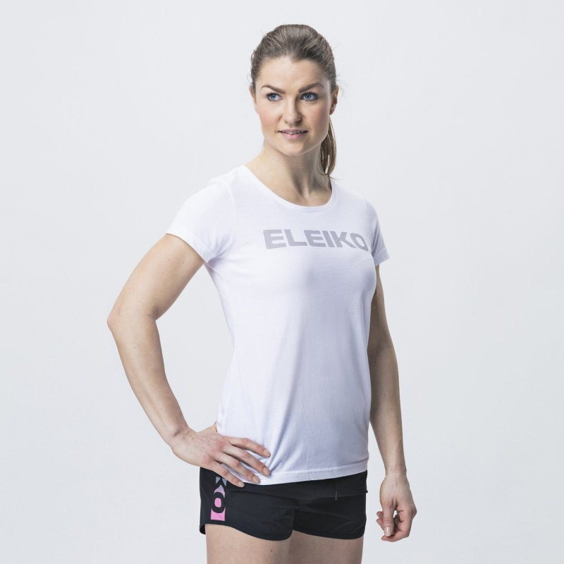 Energy T-shirt White Women - Eleiko