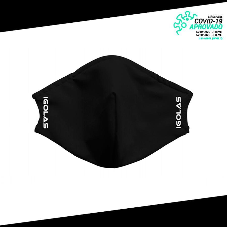 Máscara de Proteção IGolas - Black