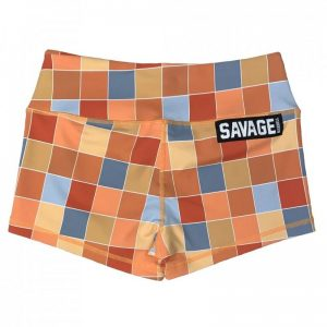 Booty Shorts Disco Square - Savage Barbell