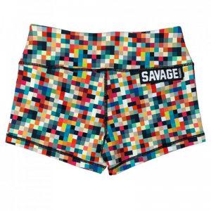 Booty Shorts Tetris - Savage Barbell