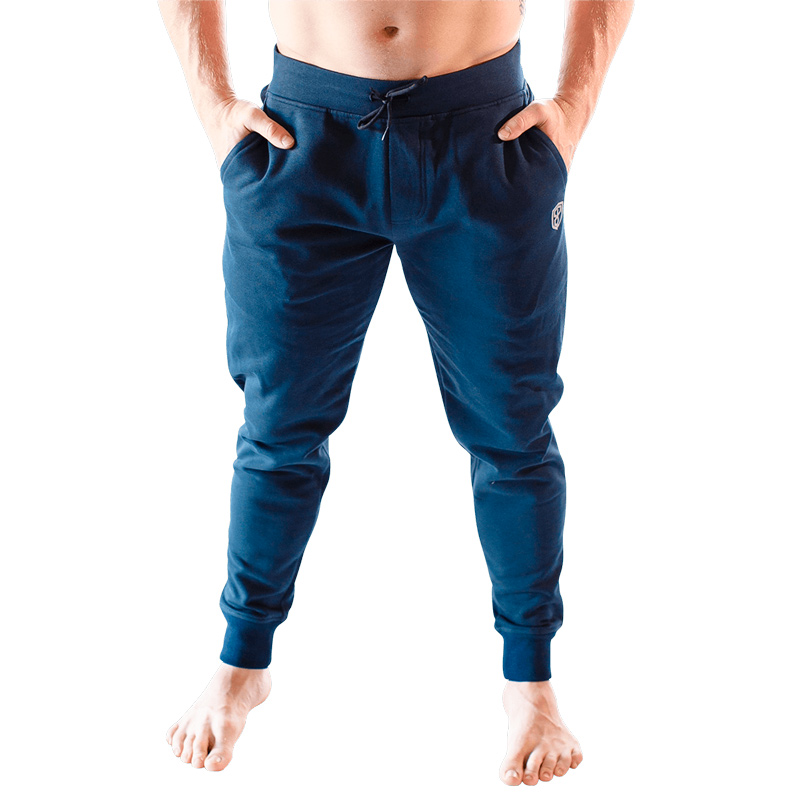 Men Warm Up Joggers - Navy Blue - Born Primitive