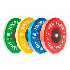 Discos Olímpicos de Competição - Singular Wod