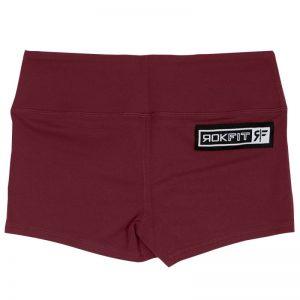 Booty Shorts Merlot - Rokfit