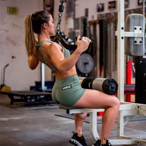 Booty Shorts Moss - Savage Barbell