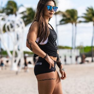 Booty Shorts Stealth Black - Rokfit