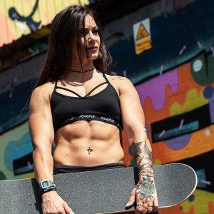 Sport Bra - Elissa Black- Rokfit