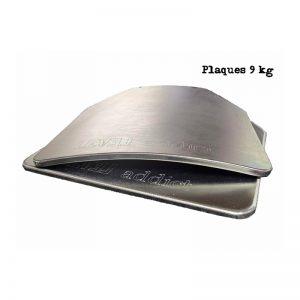 Conjunto Placas de Aço 9kg