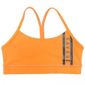 Sports Bra Viper Orange - Savage Barbell