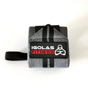 Wrist Wraps Grey - IGOLAS