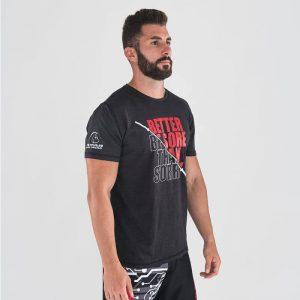 T-shirt Don't Be Sorry Black Red – Titan Box Wear