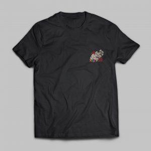 T-shirt Men Bomber Girl - The Barbell Cartel