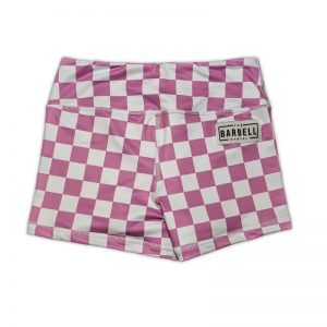 Comp Short 2.0 - Lavender Checkered - The Barbell Cartel