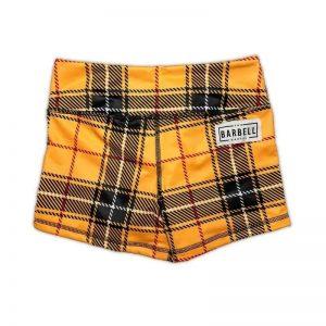 Comp Short 2.0 - Yellow Tartan - The Barbell Cartel