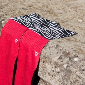 Meias Lithe Zebra Kicks Sneakerhead