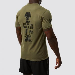 T-shirt Honor The Fallen MILITARY - Born Primitive