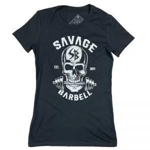 T-shirt Women Bite Me - Savage Barbell