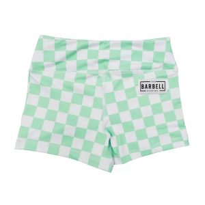 Comp Short 2.0 - Mint Checkered - The Barbell Cartel