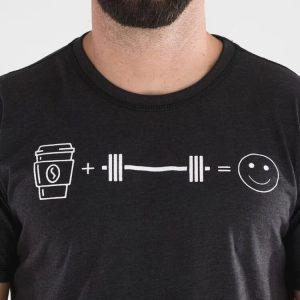T-shirt Coffee & Weights – Titan Box Wear