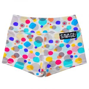 Booty Shorts DOTS - Savage Barbell