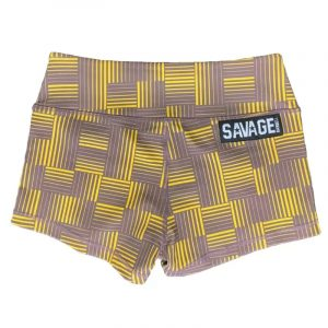 Booty Shorts BASKET CASE - Savage Barbell